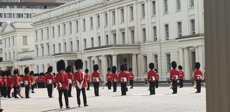 relève de la garde palais de buckingham. Londres